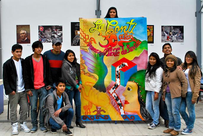 ganadores del concurso de grafiti