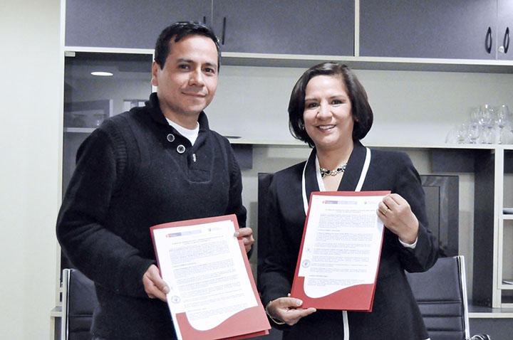 Reserva Paisajística Nor Yauyos Cochas y el Instituto Continental firman convenio