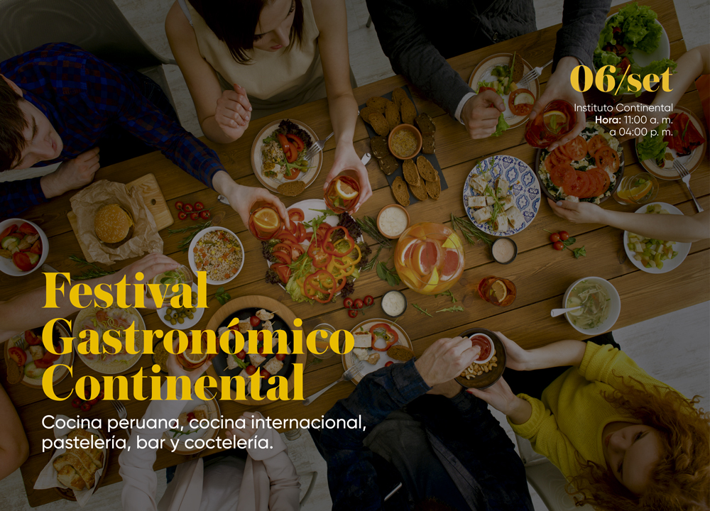 I Festival Gastronómico Continental: Comida peruana, africana, de Indonesia y Tailandia