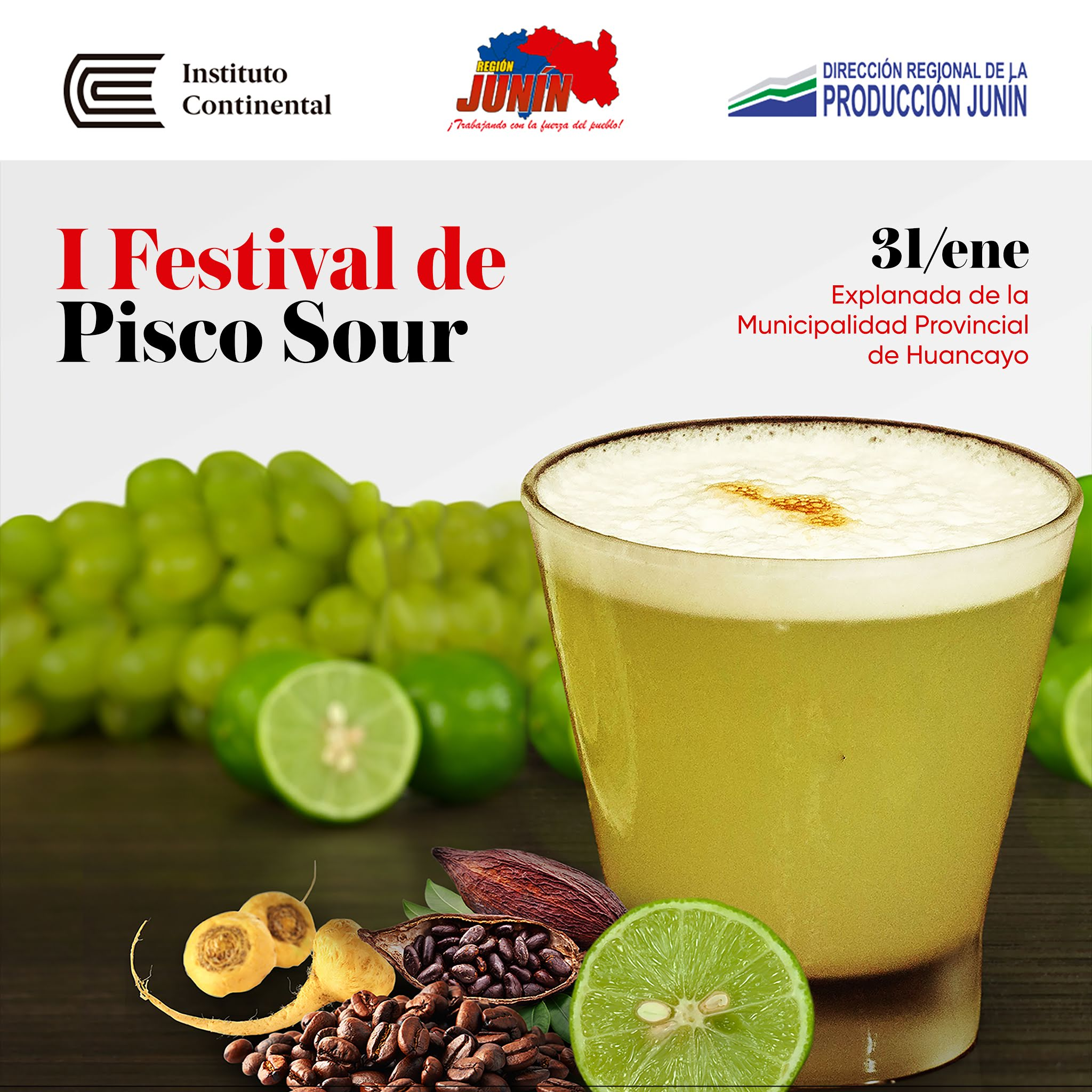 ¡I Festival del Pisco Sour! Ven a disfrutar del coctel bandera con sabor a Junín