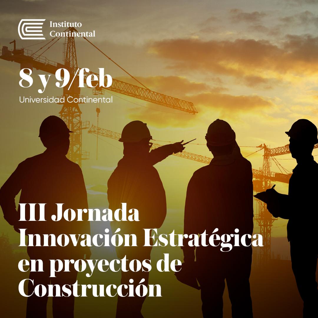III Jornada Innovación Estratégica en Proyectos de Construcción