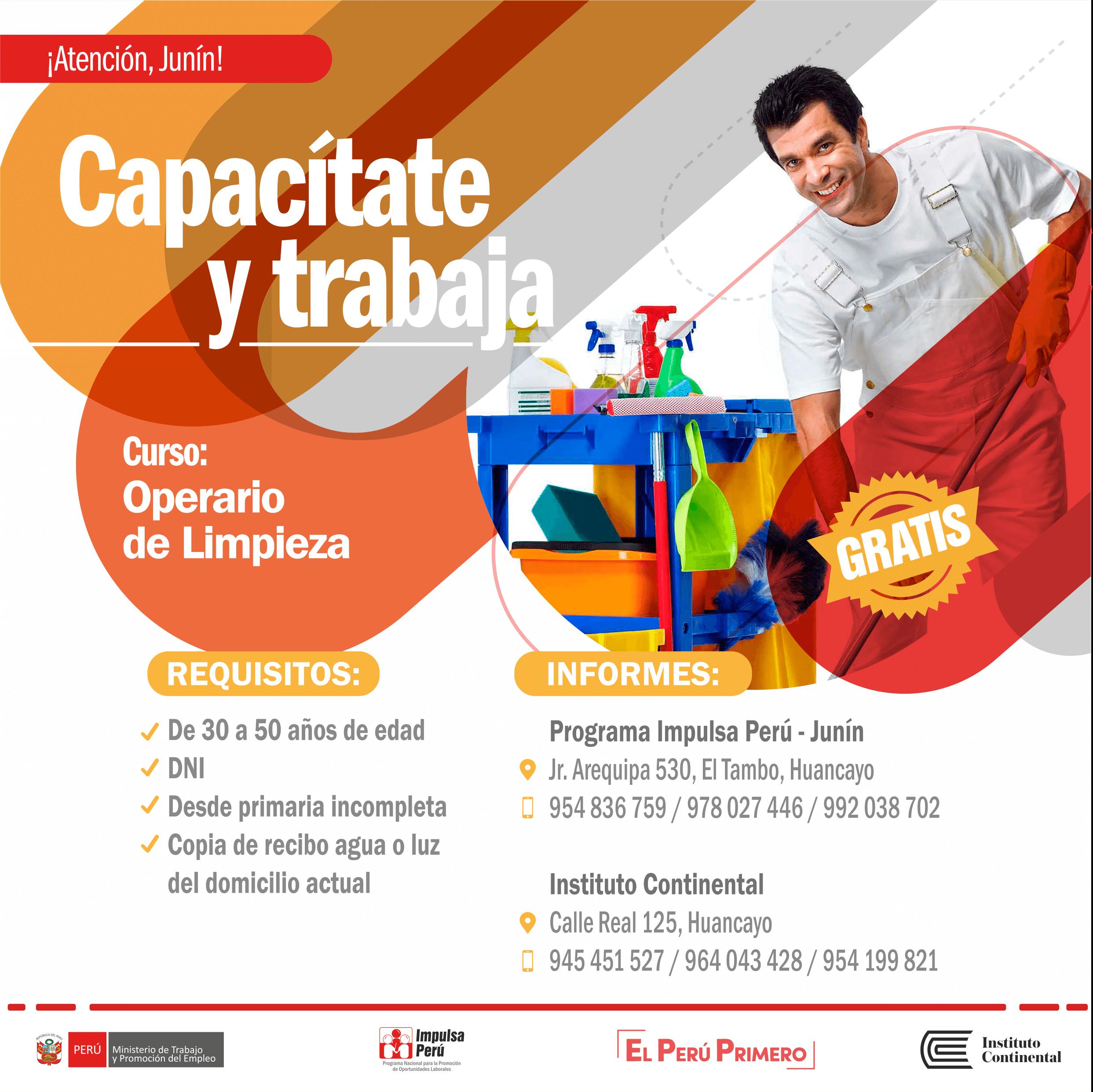Continúan las capacitaciones gratuitas gracias a Impulsa Perú e Instituto Continental